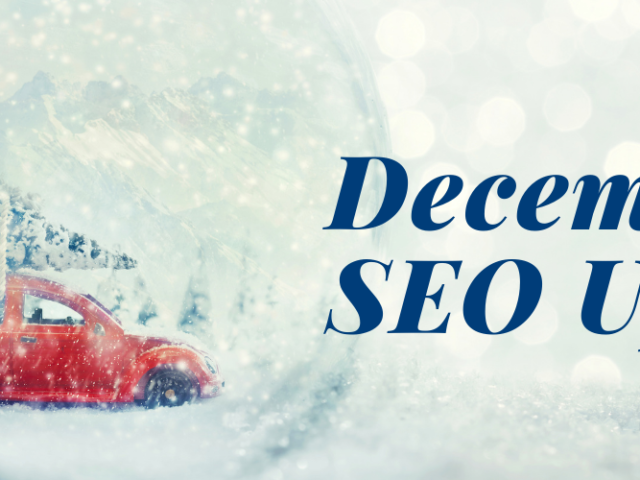 December 2020 search engine marketing update